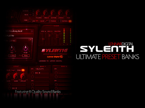Product picture Sylenth Ultimate Preset Banks